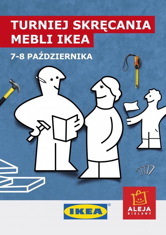 Turniej skręcania mebli IKEA wAlei Bielany
