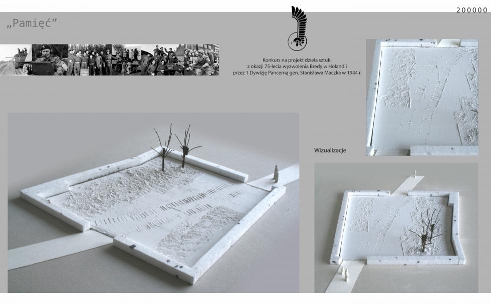 Wyniki konkursu na projekt artystyczny zokazji 75-lecia wyzwolenia Bredy