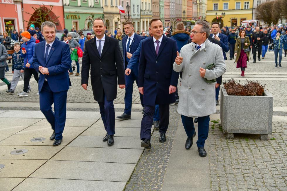 Wizyta Prezydenta RP Andrzeja Dudy wBolesławcu