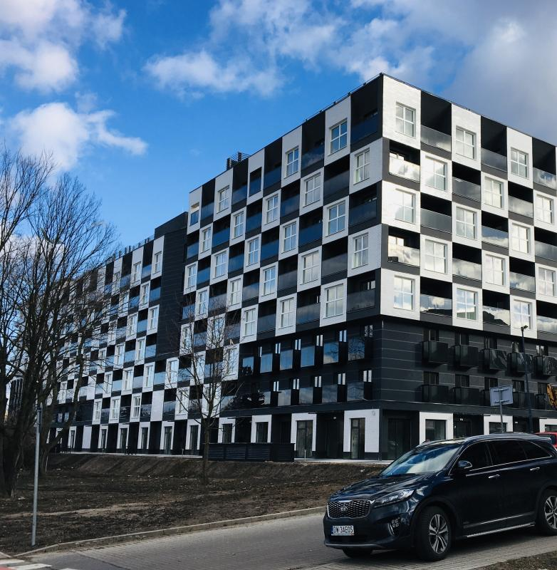 Wrocławskie osiedle Kwadrat oddane doużytkowania