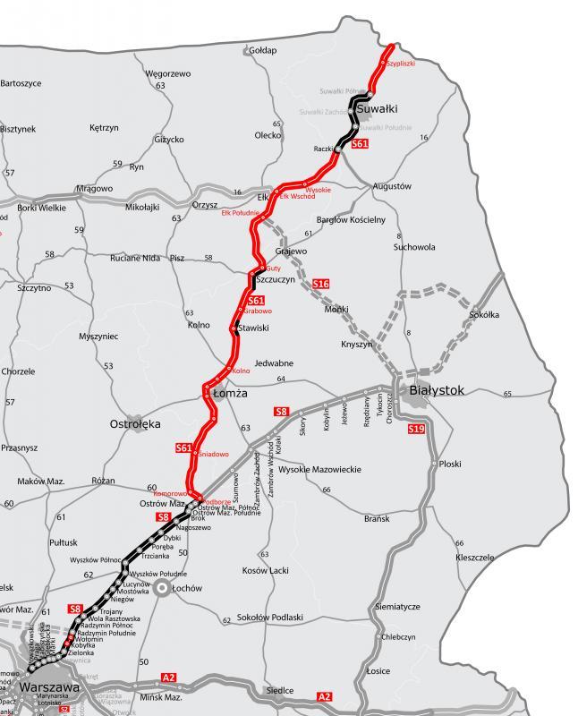Otwarto blisko 13-kilometrową obwodnicę Suwałk