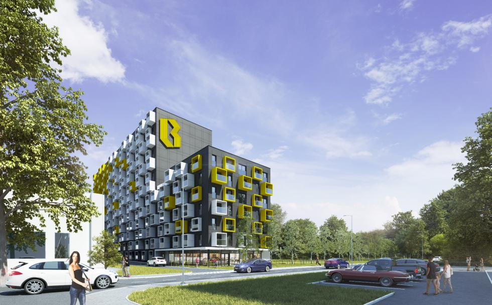 Rusza sprzedaż inwestycji B Urban. 452 mikroapartamenty wbiznesowym centrum Wrocławia