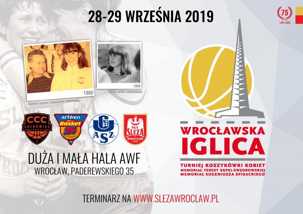 Święto koszykówki weWrocławiu - wweekend Wrocławska Iglica