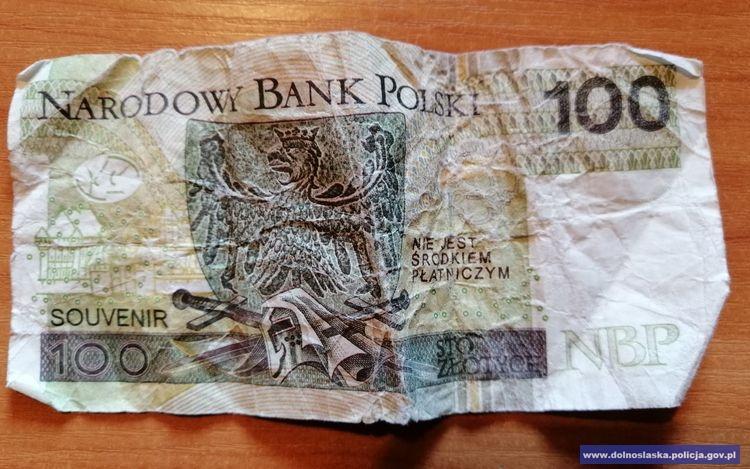 Posługiwał się fałszywymi banknotami