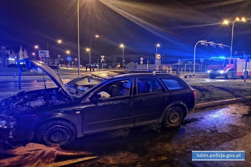 Pijany kierowca uszkodził trzy sygnalizatory świetlne