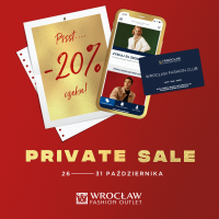 Czas na Private Sale we Wrocław Fashion Outlet
